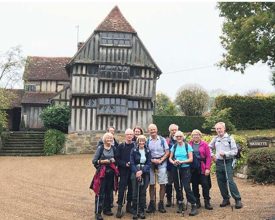 Day Walking Group Discover Outstanding Tudor Houses
